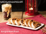 Cranberry Almond Biscotti- Holiday Baking 3
