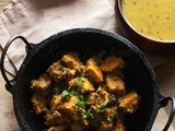 Sweet Potato Posto/ a west Indian style sweet potato curry with poppy seeds/ Blog hop/ Culinary Hoppers