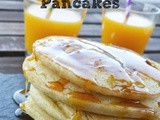 Pancakes με άρωμα πορτοκάλι - Guest Post