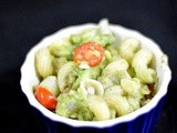 Avacado pasta salad - easy and healthy avacado recipes