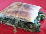 Puff pastry and herbs