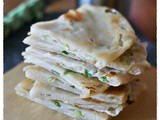Cong you bing – Piadine cinesi ai cipollotto – Chinese scallion pancakes