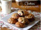 Cookies yogurt e mirtilli – Blueberry and yogurt cookies