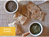 Crackers di segale con semi di carvi e trigonella …a lievitazione naturale – Sourdough rye crackers with caraway seeds and dried fenugreek