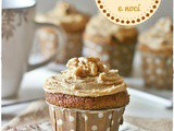 Cupcakes al caffè e noci – Coffee and walnut cupcakes