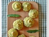 Duchesse di patate e fagiolini all'aglio orsino – Green beans and wild garlic duchess potatoes