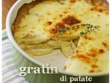 Gratin di sedano rapa e patate al timo – Celeriac and potato gratin with thyme