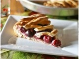 Kersenvlaai – Crostata di ciliegie olandese – Dutch cherry pie