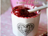 Marmellata raw di lamponi e semi di chia – Raspberry and chia seeds raw jam