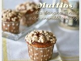 Muffins alla banana e noci con crumble topping – Crumble banana and walnut muffins