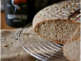 Pane con segale e Guinness a lievitazione naturale – Sourdough Guinness and rye bread