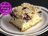 Buttermilk Blueberry Buckle and Fabulous Friday