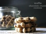 Ccc Monday: Waffle Chocolate Chunk Cookies