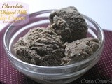 Chocolate Whipped Milk Ice Cream { no machine } and Fabulous Friday Party