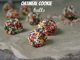 Oatmeal Cookie Balls and a guest post on Frugal Antics