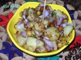Alu Kabli (Spicy Aloo Chaat) ~