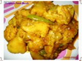 Cauliflower Potato Masala ~ In Kerala Style