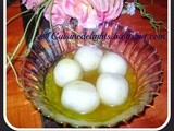 Celebrating 3rd Blog Anniversary With Rasgulla