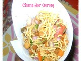 Chana Jor Gorom / Black Chickpeas Chaat