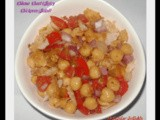 Channa Chaat (Spicy Chickpeas Salad) & The Hundred Hearts Award