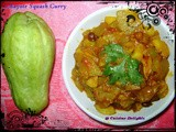 Chayote / Mexican Squash  Curry