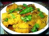 Fulkopi die Rui Maher Jhol (Light Fish Curry with Vegetable)