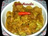 Gobi Masala ~ Without Onion and Garlic