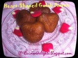 Heart Shaped Gulab Jamun ~ Valentine Treat