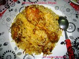 Microwave Chicken Biriyani