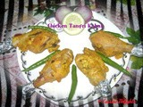 Microwave Chicken Tangri Kabab ~ Festival Special Snacks