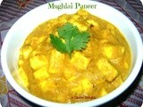 Mughlai Paneer (Indian Cottage Cheese In Creamy Gravy)