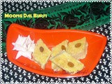 My 300th Post ~ Moong Dal Burfi