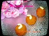 My 400th Post & Ganesh Chaturthi Special ~ Motichoor Ladoo