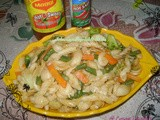 Schezwan Vegetable Pasta