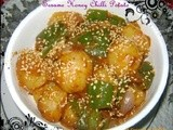 Sesame Honey Chilli Potato