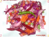 Winter Mixed Vegetable Salad