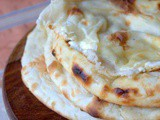 Cheese naan ou naans au fromage
