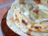 Cheese naan ou pain indien au fromage