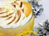Tiramisu lemon curd meringue