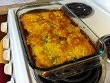 Cornbread and Chili Bake