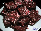 Peppermint brownie delights
