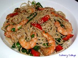Sesame shrimp pasta salad