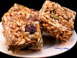 Sweet & salty chewy granola bars