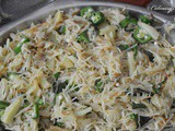 For fussy vegetable eating children.....Vermicelli Upma