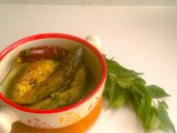 Noroxingho Maasor Anja-Assamese styled Fish Curry with Curry Leaves( Guest Post By Pushpita Ahibam)