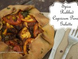Spice rubbed Savoury Paneer Capsicum Galette