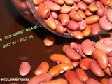 Event : Cooking with Seeds - Red Kidney Beans.. All July