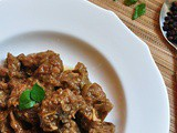 Morich Mutton (Mutton in rich Garlic-Pepper Sauce)