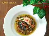 Pan Seared Salmon with Creamy Thyme, Lemon, Garlic and Wine Sauce
