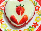 A valentine treat with strawberries